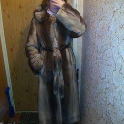Italian mink coat
