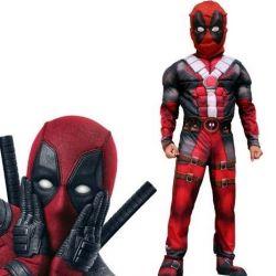 Deadpool Muscular Costume