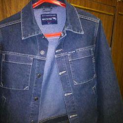 Джинсовый пиджак- куртка