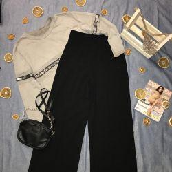 Новые женские брюки-кюлоты ZARA