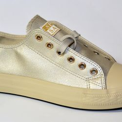 new gold sneakers 37 size
