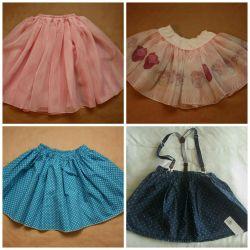 Новые юбки 4-6 л. Цена за шт.