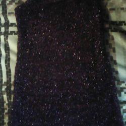 Beautiful dress of lurex