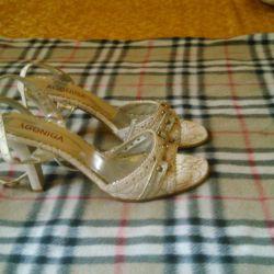 39 numaralı sandalet (pazarlık yok)