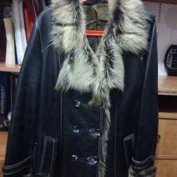 Kadınlar için koyun derisi ceket