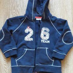 Fleece sweatshirt height 98