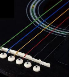 Струны цветные гитара электрогитара