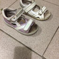 sandals orthopedic leather size27