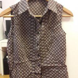 Блузка с завязками 44 размер