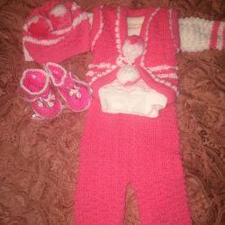 Set tricotat pentru copii