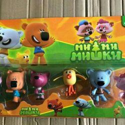 Мимимишки мишки 6 героев