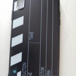 Movie clapper cover for iphone x new