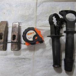 Hammer / tape measure / handle resistant
