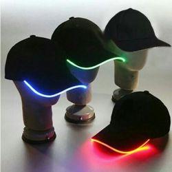 cap glowing in the dark