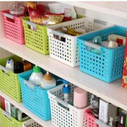 assistance in organizing storage.