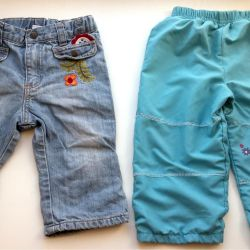 Trousers + jeans p. 80-86