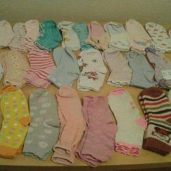 Kızlar için çorap 28 çift