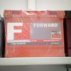 Battery FORWARD 60AH 540A new