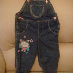 kotonovy overalls on fleece