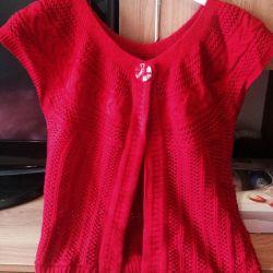 Болеро вязаное, возможен обмен :-)