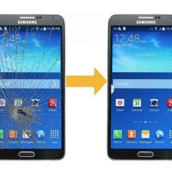 SAMSUNG Σημείωση 3 αντικατάσταση γυαλιού / γυαλί SAMSUNG N9000