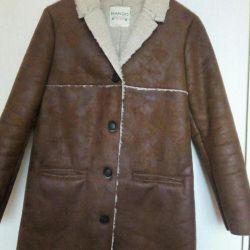 MANGO sheepskin coat