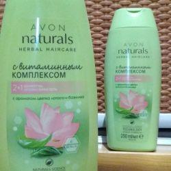Naturals masks and shampoos
