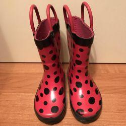 Rubber boots, crocs