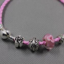 Bracelet in the style of Pandora 1332
