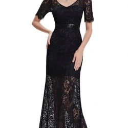 Новое кружевое платье 42 р-р
