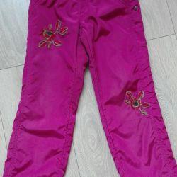 Fleece trousers!