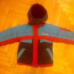 Jachetă caldă demi-sezon