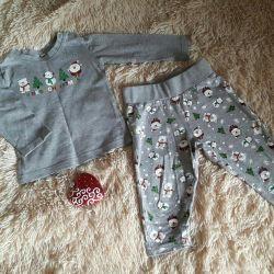 Yılbaşı kıyafeti / bio-pamuklu pijama