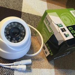 Купольные камеры видеонаблюдения ночная подсветка