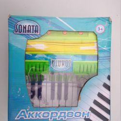 Children's toy accordion