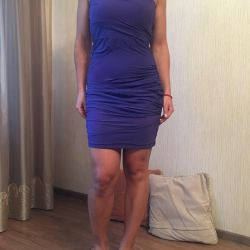 Original purple cocktail dress
