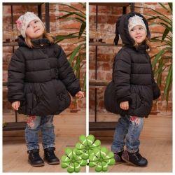 Куртка детская для девочки, от 104 до 122 рост