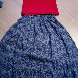 Skirt and T-shirt Austin 50-52 rr
