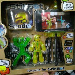 Stikbot stikbot 2 adet ve tripod