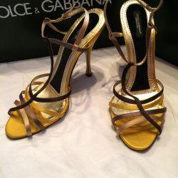 Sandals DOLCE & GABBANA new