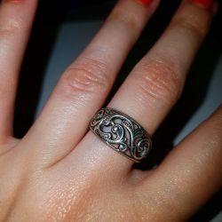 Кольцо. Советское Серебро 925 проба