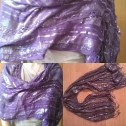 Purple tippet