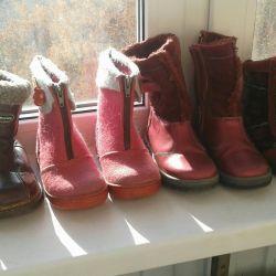 Kızlar için bot kış, ilkbahar, sonbahar 27, 29