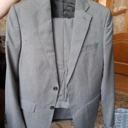 Yeni erkek takım elbise ZARA MAN