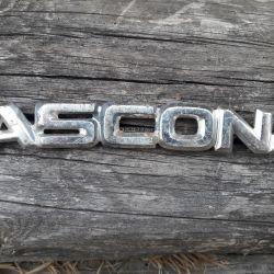 Opel Ascona ascona name label
