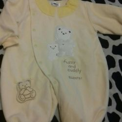 Overalls for girls 3-6 months
