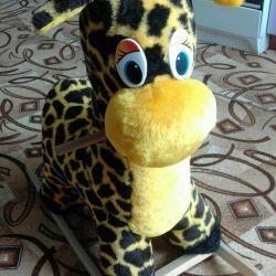 rocking chair giraffe