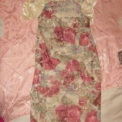 Dress with wrap