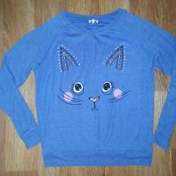 Sweatshirt with pussy 42-44 p.