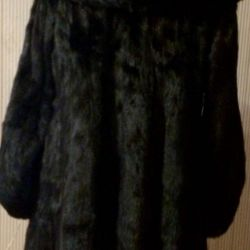 Mink coat Italy
